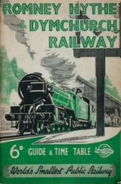 1947 Romney, Hythe & Dymchurch Railway Guide & Timetable, published January 1947.