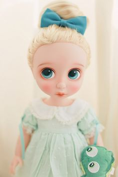 Repaint Disney Animator doll Collection - clothing inspiration (Tangled   by Bubble Juha*)