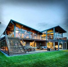 Modern Wooden framed Double storey dwelling