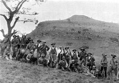 """Boer militiamen at Spioenkop, 1900 [[MORE]] """" The Second Boer War otherwise known as the Second Anglo-Boer War, was fought from 11 October 1899 until 31 May 1902 between the United Kingdom of Great..."""