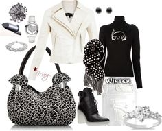 """""""Love Winter White!"""" by mpoet on Polyvore"""