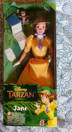 Disney Tarzan Jane/ Doll - Boxed 19.99+5