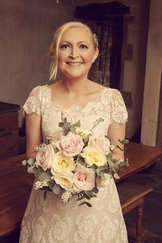 An Original 1950s Dress For A Pretty Pastel Pink and Vintage Inspired Wedding | Love My Dress® UK Wedding Blog
