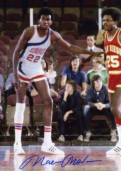 Moses Malone of Utah Stars v San Diego Conquistadors ABA