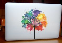 Tree-decal macbook Macbook Decal Pro/Air Sticker Handmade Skin Partial Protector MacBook decal MacBook pro sticker13126