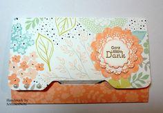 Karte mit dem Envelope Punch Board
