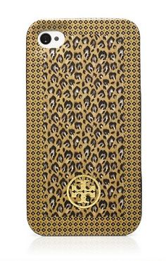 Let's face it: your iPhone isn't just a phone, it's officially an accessory. Tory Burch's Wray mix hardshell case, in a chic leopard print, is designed to protect your phone and lend polish to your look.