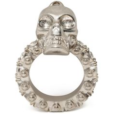 ALEXANDER MCQUEEN|Jewelry|Jewelled Skull Ring