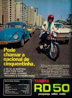 Anúncio moto Yamaha RD 50 - 1975