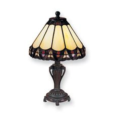 Dale Tiffany Peacock Table Lamp  Antique Finish SALE Price $135.