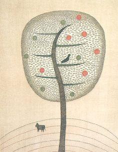 Keiko Minami #tree #art