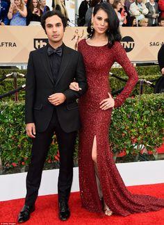 Still going strong: The Big Bang Theory'sKunal Nayyar and Miss India 2006 winner Neha Kap...