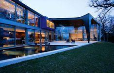 SAOTA Lake House Switzerland 2 Outdoor Oriented Dream Home/Office Implants ModernAfrican Aesthetic in Switzerland