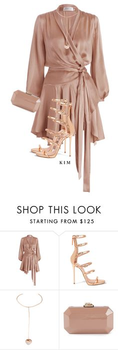 """Untitled #3296"" by kimberlythestylist ❤ liked on Polyvore featuring Zimmermann, Giuseppe Zanotti, Cornelia Webb and Serpui"