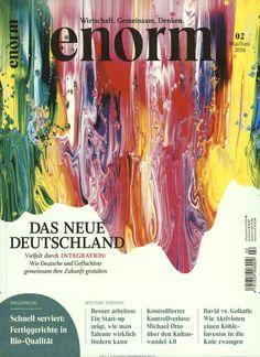 Das neue Deutschland. Gefunden in: enorm, Nr. 2/2016