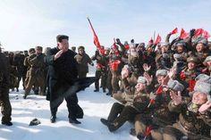 20 Minuten - Kim Jong Un besteigt Nordkoreas höchsten Berg