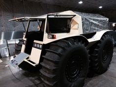 Sherp is probably worth your attention. It's a new Saint-Petersburg based ATV. Bad ass!
