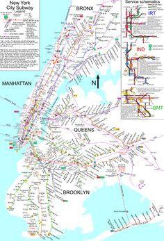 Nowy Jork: metro
