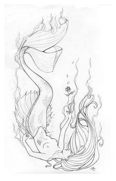 The Little Mermaid... by SRJ-ART.deviantart.com on @deviantART
