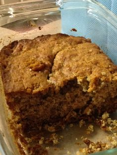 GF Peanut butter banana bread ~ Oven 350 degrees  2 1/2 to 3 browning bananas 1 egg  1/2 cup of butter   3/4 cup sugar   1 tsp vanilla extract  1/2 cup peanut butter  1/4 milk   2 cups rice flour  1 tsp baking powder  Mix wet. Add bananas one at a time followed by peanut butter.Mix all. Greased baking dish. Bake 60 minutes.