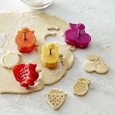 A sweet set of crust cutters that are perfect for fruit pies. | 33 Impossibly Cute Kitchen Products You'll Actually Use