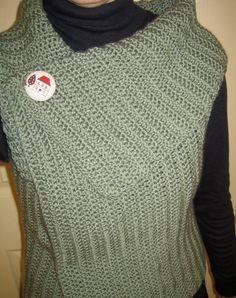 http://joyceliveshere.blogspot.com/2010/06/crochet-wrap-vest.html    Joyce Lives Here: Crochet Wrap Vest