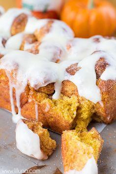 Pumpkin Bubble Bread