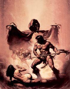 Conan by Boris Vallejo