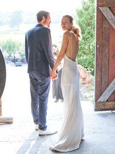 Newlyweds Daphne Javitch and Pali Xisto Cornelsen.