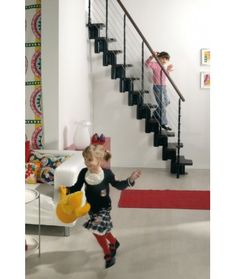 1000 ideas about escalier escamotable on pinterest fen tre de toit faire - Escalier a pas decales ...