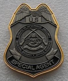 This is one of the many badges that I come across that belong to the professional men and women that are trying to solve the crime too.