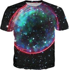 Hubble Bubble Supernova | Universe Galaxy Nebula Star Clothes | Rave & Festival Shirt