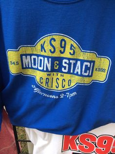 KS95 Moon & Staci with Crisco! #MNStateFair