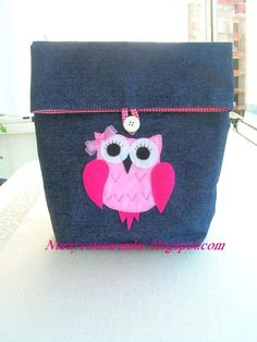 Applique Owl Bag, via Etsy.