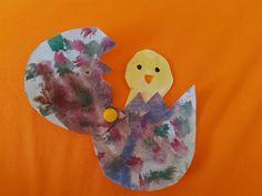 Velikonoce, tvoření s dětmi, vajíčko, kuřátko, jaro, děti, lepení, vodové barvy, kreslení, malování, stříhání, návod, tipy, od 2 let, od 3 let, od 4 let, předškoláci, kids craft Dinosaur Stuffed Animal, Toys, Animals, Activity Toys, Animales, Animaux, Clearance Toys, Animal, Gaming