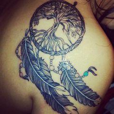 dream catcher tree tattoo - Bing Images