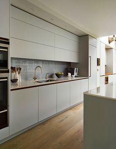 Roundhouse Blue Kitchens contemporary-kitchen