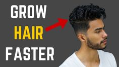 How to Grow Hair Faster, Thicker & Fuller Look Older, Look Younger, Grow Natural Hair Faster, How To Grow Hair Faster, Fastest Man, Natural Hair Styles, Long Hair Styles, Hair Growth Tips, Men Style Tips