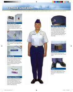 Civil Air Patrol Squadron 157 Civil Air Patrol, Blue And Silver, Civilization, Air Force, Chevron, Blues, Military, Cap, Female