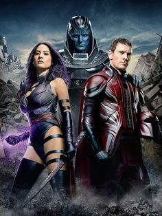 See EW's X-MEN: APOCALYPSE Cover Textless In UHQ - Yeah Apocalypse does not look too great...