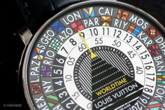 Introducing The Louis Vuitton Escale Worldtime, A Hand-Painted Travel Watch