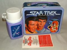 1979 STAR TREK MOTION PICTURE METAL LUNCHBOX W/THERMOS MINT !!!