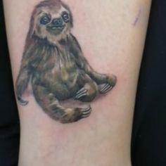 "23 Me gusta, 0 comentarios - Nilson De La Ossa (@nils_onfire) en Instagram: ""🌸tatuaje 8x8 oso perezoso.🌿 #osoperezoso #tattoo #nature #sloth #jungle #microrealismotattoo…"" 23 And Me, Realism Tattoo, S Mo, Color Tattoo, Sloth, Tattoos, Instagram, Sloth Bear, Tattoo"