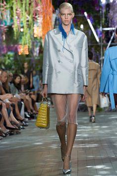 Christian Dior Spring 2014 Ready-to-Wear Fashion Show - Devon Windsor (IMG)