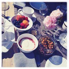 La colazione di Claudia ❤️