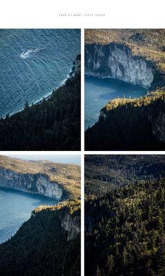 hike parc national Forillon Gaspésie Parc National, National Parks, Road Trip, Hiking, River, Explore, Mountains, Summer, Outdoor