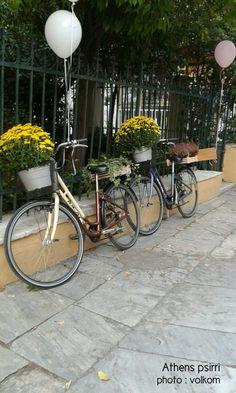 Psirri#bicycle#vintage#Athens