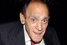 """Abe Vigoda -- (2/24/1921-1/26/2016). American Movie & Television Actor. He portrayed Detective Sargent Phil Fish on """"Barney Miller"""". Movies -- """"The Godfather"""" as Salvatore Tessio, """"Good Burger"""" as Otis, """"Joe Versus the Volcano"""" as Chief Tobi, """"North"""" as Alaskan Grandfather and """"Jury Duty"""" as Judge Powell. He appeared with fellow octogenarian Betty White in a widely seen and well-liked Super Bowl ad for Snickers candy bars.He died in his sleep, age 94."""