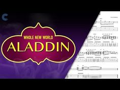 Cello - A Whole New World - Aladdin - Sheet Music, Chords, & Vocals Viola Sheet Music, Cello Sheet Music, Music Chords, Free Sheet Music, A Whole New World, Aladdin, Music Videos, That's Entertainment, Entertaining