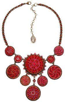Kalinka red necklace